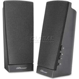 Compucessory Speaker System, 51544, 1 Watt RMS, Black
