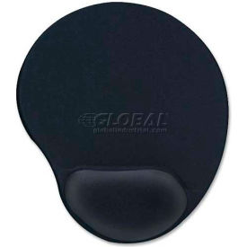 Compucessory 55151 Gel Mouse Pad, Black
