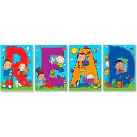 """Carson-Dellosa READ Bulletin Board Decoration Set - 24"""" Height x 17"""" Width"""