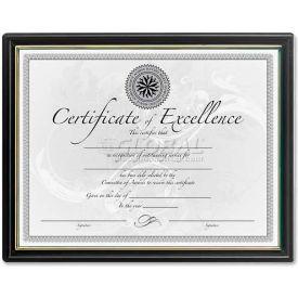"DAX Certificate Frames, DAXN118818T, 8.5"" x 11"", Black Frame, 18/Pk"
