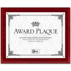 "DAX Mahogany Award Plaque, DAXN1581MT, 13"" x 10.5"", Mahogany Frame, 1 Each by"