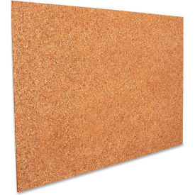 "Elmer's Foam Cork Display Board with Frame, 30""W x 20""H"