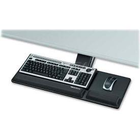 "Fellowes® Compact Keyboard Tray, 8017801, 27-1/2"" X 18"" X 3"", Black"