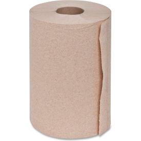"Genuine Joe Hardwound Roll Towel, 2"" Core, 350 Ft, 12Rolls/CT, Natural - GJO22200"