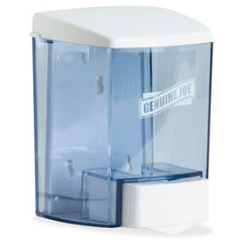 Genuine Joe Plastic Bulk Fill Liquid Soap Dispenser, 887mL, Clear - GJO29425