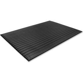 "Genuine Joe Air Step Anti-Fatigue Mat 36""L X 24""W Black - GJO53231"