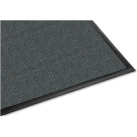 "Genuine Joe Waterguard Indoor/Outdoor Mat 72""L X 48""W Charcoal Gray - GJO59476"