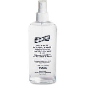 Genuine Joe Dry-Erase Board Cleaner, 8 oz. Pump Spray Bottle, Low Odor GJO75626 by