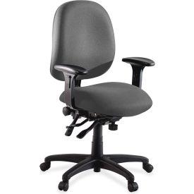 "Lorell® High Performance Task Chair, 27-1/4""W x 25-1/4""D x 41-1/2""H, Gray"
