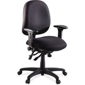"Lorell® High Performance Task Chair, 27-1/4""W x 25-1/4""D x 41-1/2""H, Black"