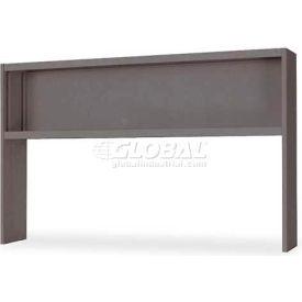 """Lorell® 67000 Series Hutch, 60""""W x 24""""D x 36""""H, Charcoal"""