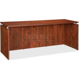 "Lorell® Credenza - 66""W x 24""D x 29-1/2""H - Cherry - Ascent Series"