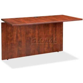 "Lorell® Bridge - 48""W x 24""D x 29-1/5""H - Cherry - Ascent Series"