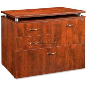 "Lorell® File Drawer - 36""W x 22""D x 30""H - Cherry - Ascent Series"