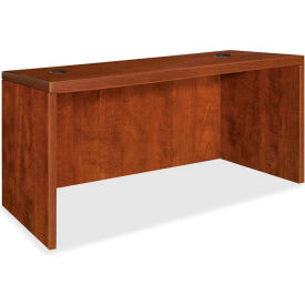 "Lorell® Rectangular Desk Shell - 48""W x 30""D x 29-1/2"" - Cherry - Essentials Series"