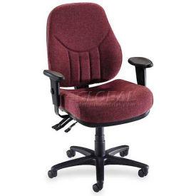 "Lorell® Baily High-Back Multi-Task Chair, 27""W x 28""D x 44""H, Burgundy"