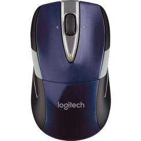 "Logitech Wireless Mouse, 910002698, 2-1/2"" X 4-1/2"" X 1-7/8"", Blue"