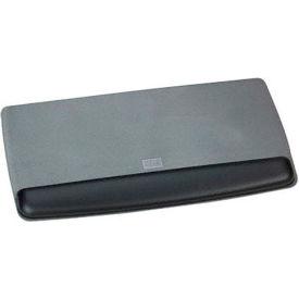 3M™ WR420LE Adjustable Gel Filled Keyboard Wrist Rest, Black