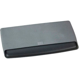 "3M™ Adjustable Gel Wrist Rest, WR420LE, For Keyboard, 19-3/5""W x 10-3/5""D x 1""H, Black"