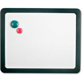 "Officemate Dry-Erase Board, Magnetic, w/3 Magnets, 15-7/7""x1""x12-7/8"", Gray by"