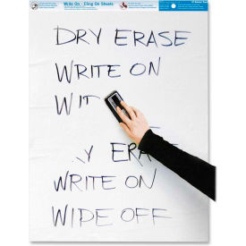 Rediform National Write-On Cling Sheets - 35 Sheet - White Paper