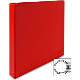 "3-Ring Binder, 1"" Capacity, 11""x8-1/2"", Red"