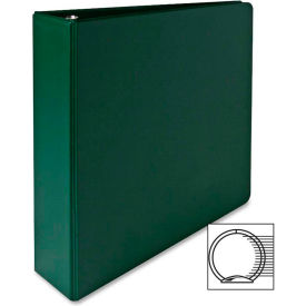"3-Ring Binder, 2"" Capacity, 11""x8-1/2"", Green by"