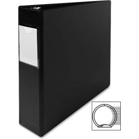 "3 Ring Label Hold Binder, 2"" Capacity, 11""x8-1/2"", Black by"
