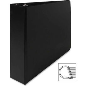 "Vinyl D-Ring Binder, 2"" Capacity, 8-1/2""x11"", Black"