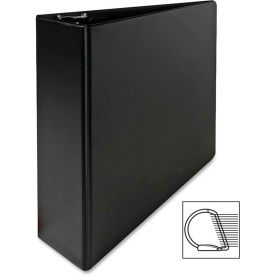 "Vinyl D-Ring Binder, 3"" Capacity, 8-1/2""x11"", Black by"