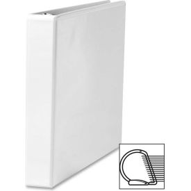 "Click here to buy Slant Ring View Binder, 1"" Capacity, 11""x8-1/2"", White."