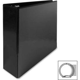 "Round Ring View Binder, 3"" Capacity, 11""x8-1/2"", Black by"