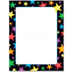 """Trend Gel Stars Terrific Multipurpose Paper, TEPT11413, Letter 8.50"""" x 11"""", 50/Pack"""