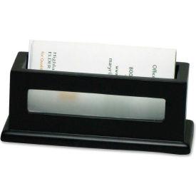 Victor® Midnight Black Business Card Holder