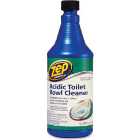 Zep® Acidic Toilet Bowl Cleaner 32 oz. Bottle ZPEZUATB32