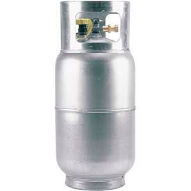 TVH Parts 5 Gal. Aluminum LPG Forklift Tank - 47.6 Lb. Water Capacity - SY9720
