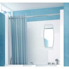Spa World Venzi Shower Enclosure, 27x47, White