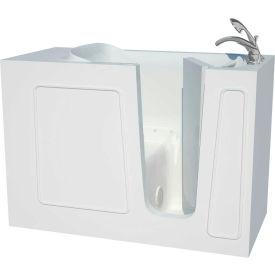 Spa World Venzi Artisan Rectangular Air Jetted Walk-In Bathtub, 26x53, Right Drain, White