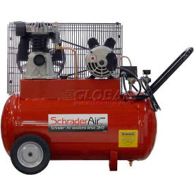 Schrader® Prosumer Air Compressor SA1520, Portable, 2 HP, 115V, 1 Phase, 20 Gal