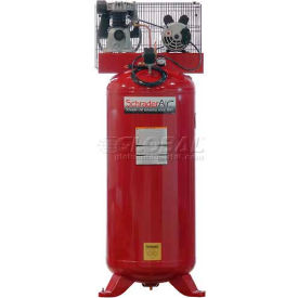 Schrader® Prosumer Air Compressor SA1560, Stationary, 2 HP, 115V, 1 Phase, 60 Gal.