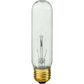 Shat-R-Shield 01005i Safety-Coated Incandescent Bulb, 40t10/Cl 130v - Pkg Qty 6