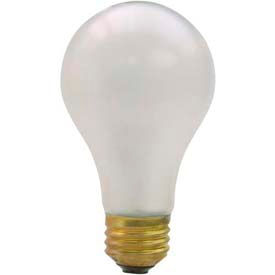 Shat-R-Shield 01248I Safety-Coated Incandescent Lamp, 60A19 IF/5M 130V