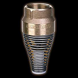 "2-1/2"" FNPT Brass Foot Valve with Buna-S Rubber Poppet"