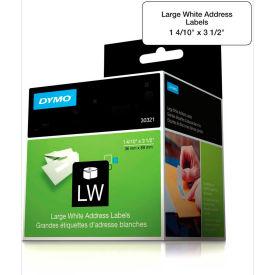 "DYMO® LW Address Labels, Large 1 4/10"" x 3 1/2"" Black on White"