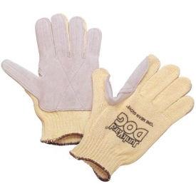 Honeywell Junk Yard Dog® Premium Leather Palm Gloves, Ladies Size, 1 Pair