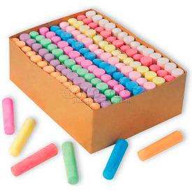 Color Splash SC877 Giant, Box Of Sidewalk Chalk, Box Of 126