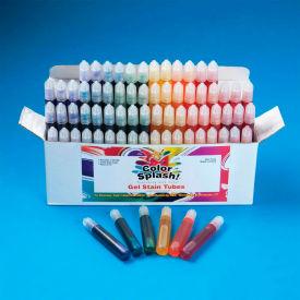 Color Splash!® SG796 Glass Stain Color Gel, Set of 72, .34 Oz