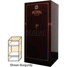 "60"" x 29"" x 27"" 1/2-Hr Fire Rated Gun Safe w/ 2 Shelves Black Metallic"