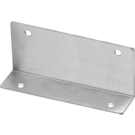 "Angle Bracket 57""H x 2.50""L x 1.25""B - St. Stainless Steel"