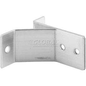 "Wall Bracket, 2-7/8"" High, St. Stainless Steel - Pkg Qty 2"